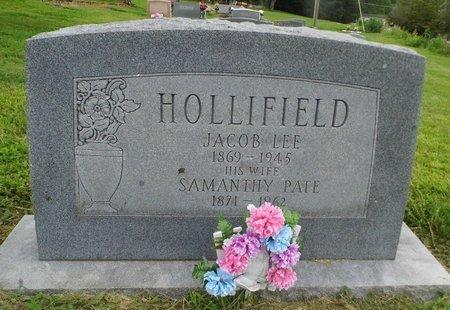 PATE HOLLIFELD, SAMANTHY - Unicoi County, Tennessee | SAMANTHY PATE HOLLIFELD - Tennessee Gravestone Photos