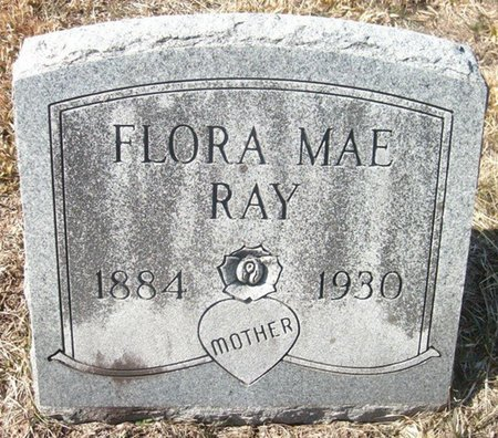 RAY, FLORA MAE - Unicoi County, Tennessee | FLORA MAE RAY - Tennessee Gravestone Photos