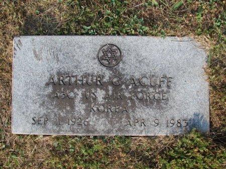 ACUFF (VETERAN KOR), ARTHUR GARDNER - Union County, Tennessee   ARTHUR GARDNER ACUFF (VETERAN KOR) - Tennessee Gravestone Photos