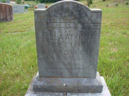 ATKINS, ELLA - Union County, Tennessee   ELLA ATKINS - Tennessee Gravestone Photos