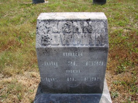 BOWMAN, JOHN C. - Union County, Tennessee | JOHN C. BOWMAN - Tennessee Gravestone Photos