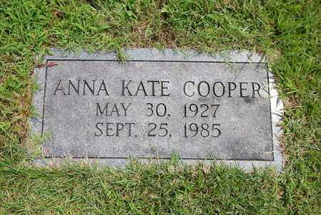 COOPER, ANNA KATE - Union County, Tennessee   ANNA KATE COOPER - Tennessee Gravestone Photos