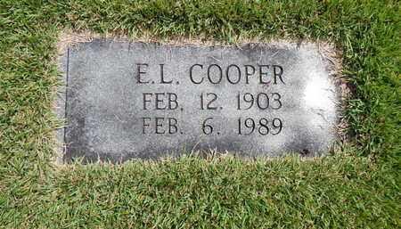 COOPER, E L - Union County, Tennessee   E L COOPER - Tennessee Gravestone Photos