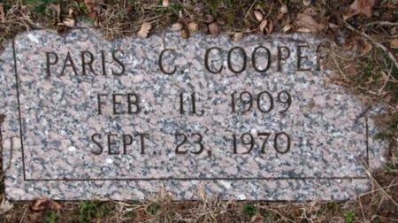 COOPER, PARIS C. - Union County, Tennessee   PARIS C. COOPER - Tennessee Gravestone Photos