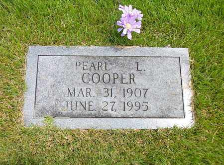 COOPER, PEARL L - Union County, Tennessee   PEARL L COOPER - Tennessee Gravestone Photos
