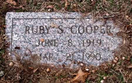 COOPER, RUBY S. - Union County, Tennessee | RUBY S. COOPER - Tennessee Gravestone Photos