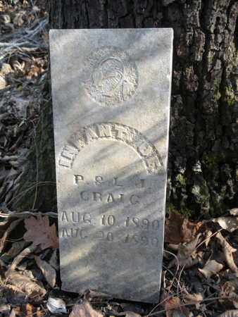CRAIG, INFANT - Union County, Tennessee   INFANT CRAIG - Tennessee Gravestone Photos