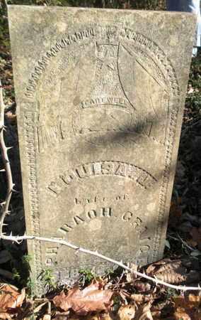 LONGMIRE CRAIG, LOUISA JANE - Union County, Tennessee | LOUISA JANE LONGMIRE CRAIG - Tennessee Gravestone Photos