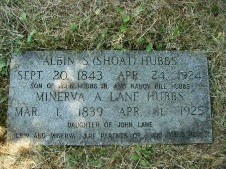 HUBBS, MINERVA A. - Union County, Tennessee   MINERVA A. HUBBS - Tennessee Gravestone Photos