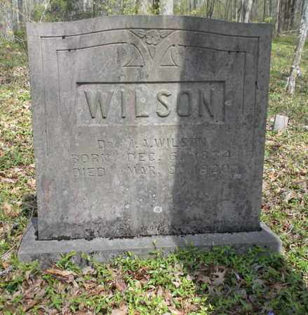 WILSON, ISAAC A (DOCTOR) - Union County, Tennessee   ISAAC A (DOCTOR) WILSON - Tennessee Gravestone Photos