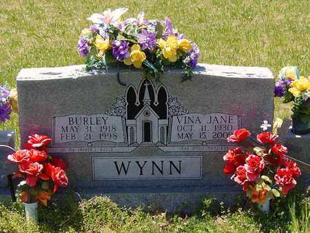 WYNN, VINA JANE - Union County, Tennessee | VINA JANE WYNN - Tennessee Gravestone Photos