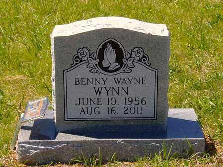 WYNN, BENNY WAYNE - Union County, Tennessee | BENNY WAYNE WYNN - Tennessee Gravestone Photos