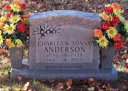 ANDERSON, CHARLES W. (SONNY) - Warren County, Tennessee | CHARLES W. (SONNY) ANDERSON - Tennessee Gravestone Photos