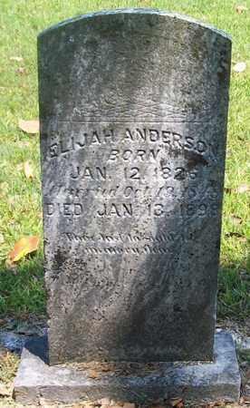 ANDERSON, ELIJAH - Warren County, Tennessee   ELIJAH ANDERSON - Tennessee Gravestone Photos