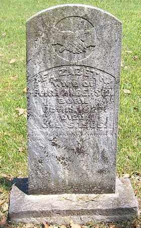 ANDERSON, ELIZABETH - Warren County, Tennessee | ELIZABETH ANDERSON - Tennessee Gravestone Photos