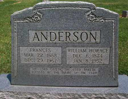 ANDERSON, FRANCES - Warren County, Tennessee | FRANCES ANDERSON - Tennessee Gravestone Photos
