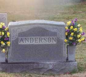 ANDERSON, HENRY G. - Warren County, Tennessee   HENRY G. ANDERSON - Tennessee Gravestone Photos