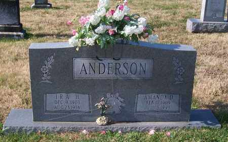 ANDERSON, AMANDA D. - Warren County, Tennessee | AMANDA D. ANDERSON - Tennessee Gravestone Photos