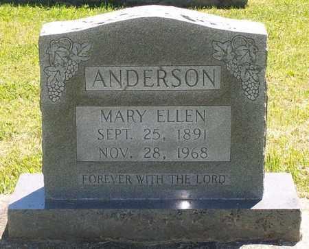 ANDERSON, MARY ELLEN - Warren County, Tennessee | MARY ELLEN ANDERSON - Tennessee Gravestone Photos