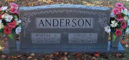 ANDERSON, CREED D. - Warren County, Tennessee | CREED D. ANDERSON - Tennessee Gravestone Photos