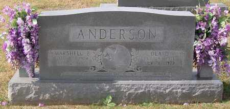 ANDERSON, OLA D. - Warren County, Tennessee | OLA D. ANDERSON - Tennessee Gravestone Photos