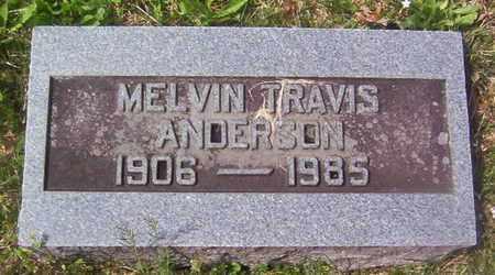 ANDERSON, MELVIN TRAVIS - Warren County, Tennessee | MELVIN TRAVIS ANDERSON - Tennessee Gravestone Photos