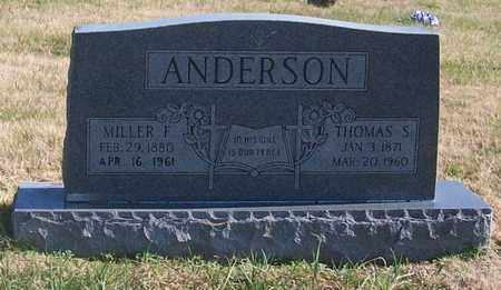 ANDERSON, THOMAS S. - Warren County, Tennessee | THOMAS S. ANDERSON - Tennessee Gravestone Photos