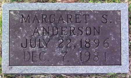 ANDERSON, MARGARET S. - Warren County, Tennessee | MARGARET S. ANDERSON - Tennessee Gravestone Photos