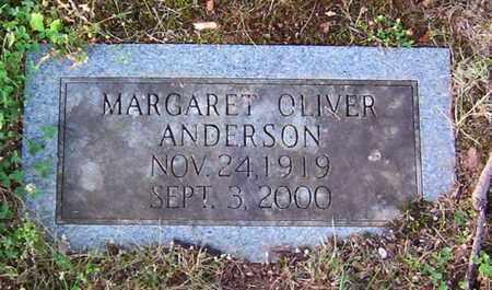 ANDERSON, MARGARET - Warren County, Tennessee | MARGARET ANDERSON - Tennessee Gravestone Photos