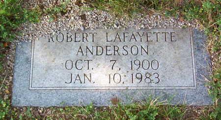 ANDERSON, ROBERT LAFAYETTE - Warren County, Tennessee | ROBERT LAFAYETTE ANDERSON - Tennessee Gravestone Photos