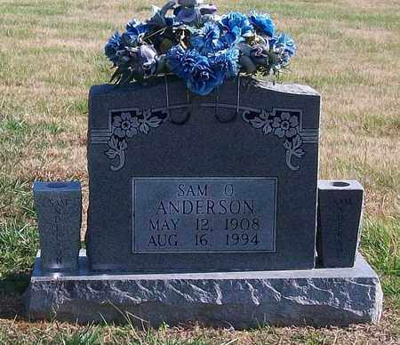 ANDERSON, SAM OWEN - Warren County, Tennessee | SAM OWEN ANDERSON - Tennessee Gravestone Photos