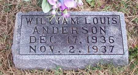 ANDERSON, WILLIAM LOUIS - Warren County, Tennessee   WILLIAM LOUIS ANDERSON - Tennessee Gravestone Photos