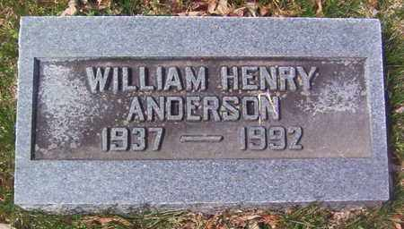 ANDERSON, WILLIAM HENRY - Warren County, Tennessee | WILLIAM HENRY ANDERSON - Tennessee Gravestone Photos