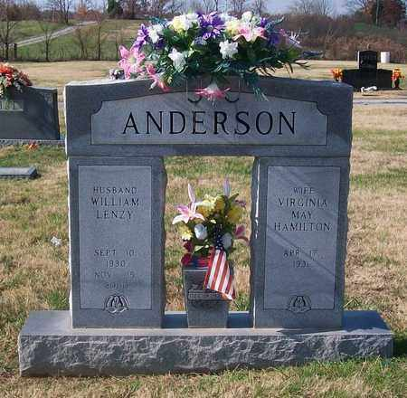 ANDERSON, WILLIAM LENZY - Warren County, Tennessee | WILLIAM LENZY ANDERSON - Tennessee Gravestone Photos