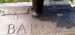 BARNES, MARTHA ELEANOR - Warren County, Tennessee   MARTHA ELEANOR BARNES - Tennessee Gravestone Photos