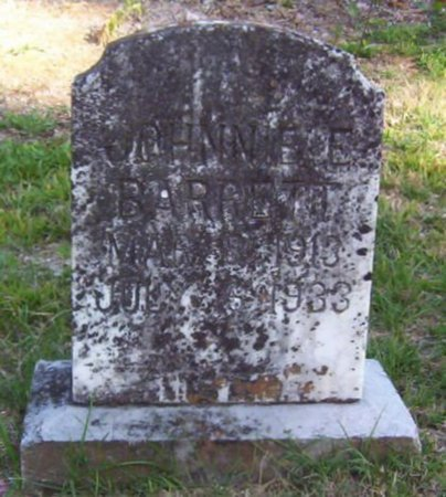 BARRETT, JOHNNIE E. - Warren County, Tennessee | JOHNNIE E. BARRETT - Tennessee Gravestone Photos
