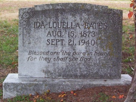 BATES, IDA LOUELLA - Warren County, Tennessee | IDA LOUELLA BATES - Tennessee Gravestone Photos