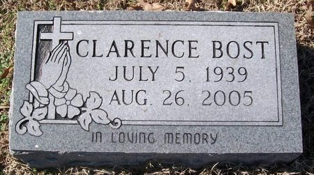 BOST, CLARENCE - Warren County, Tennessee | CLARENCE BOST - Tennessee Gravestone Photos