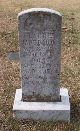 BOST, CLAUDIE JANE - Warren County, Tennessee | CLAUDIE JANE BOST - Tennessee Gravestone Photos