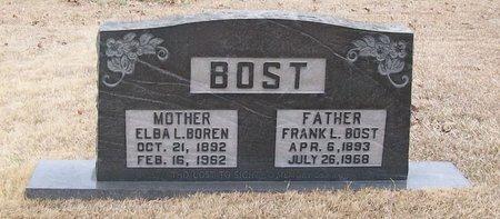 BOST, FRANK L. - Warren County, Tennessee | FRANK L. BOST - Tennessee Gravestone Photos