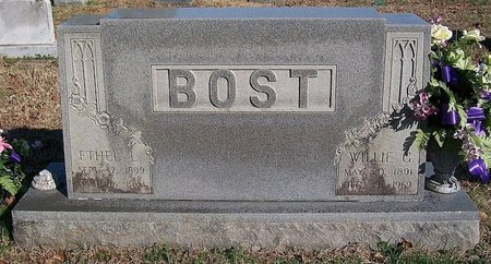 BOST, ETHEL L. - Warren County, Tennessee | ETHEL L. BOST - Tennessee Gravestone Photos