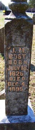 BOST, JONATHAN M. - Warren County, Tennessee | JONATHAN M. BOST - Tennessee Gravestone Photos