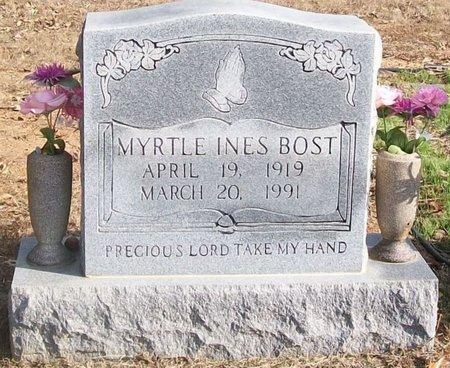BOST, MYRTLE INEZ - Warren County, Tennessee | MYRTLE INEZ BOST - Tennessee Gravestone Photos