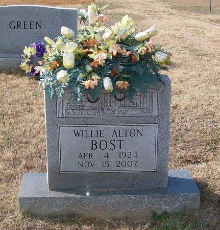 BOST, WILLIE ALTON - Warren County, Tennessee | WILLIE ALTON BOST - Tennessee Gravestone Photos