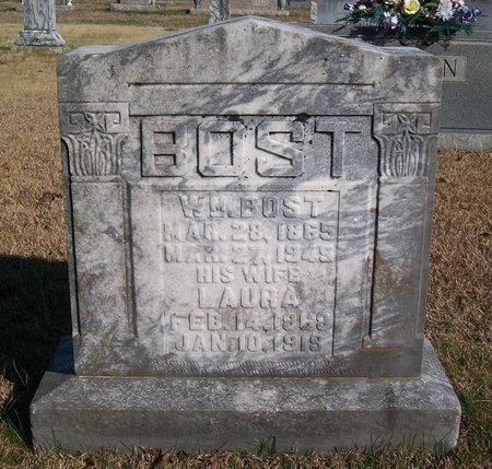 BOST, LAURA - Warren County, Tennessee | LAURA BOST - Tennessee Gravestone Photos