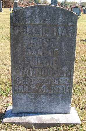 BOST, WILLIE MAY - Warren County, Tennessee | WILLIE MAY BOST - Tennessee Gravestone Photos