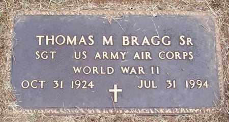 BRAGG, SR (VETERAN WWII), THOMAS M - Warren County, Tennessee   THOMAS M BRAGG, SR (VETERAN WWII) - Tennessee Gravestone Photos