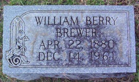 BREWER, WILLIAM BERRY - Warren County, Tennessee   WILLIAM BERRY BREWER - Tennessee Gravestone Photos