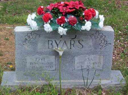 BYARS, FAYE - Warren County, Tennessee | FAYE BYARS - Tennessee Gravestone Photos