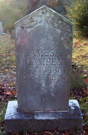 CAMPEN, JAMES E. - Warren County, Tennessee | JAMES E. CAMPEN - Tennessee Gravestone Photos